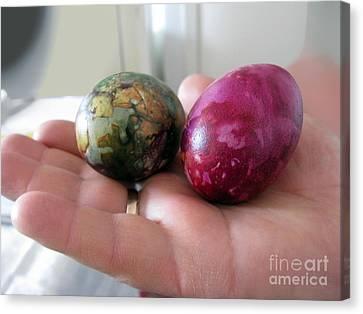 Lithuanian Easter Eggs Canvas Print