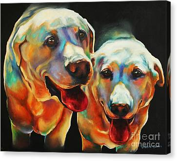 Litter Mates Canvas Print