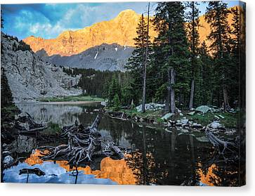 Little Bear Peak And Lake Como Canvas Print