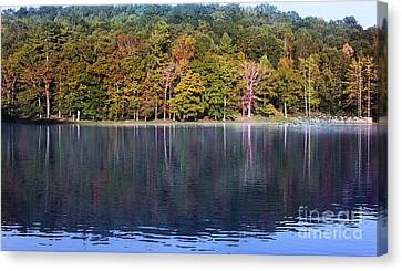 Little Beaver Lake Canvas Print