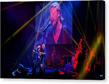 Canvas Print featuring the photograph Little Big Town by Greg Norrell
