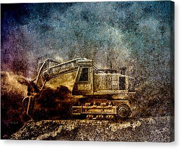 Little Big Truck Canvas Print