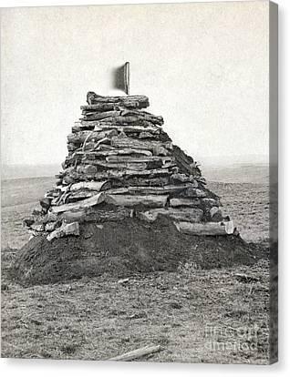 Little Bighorn Monument Canvas Print