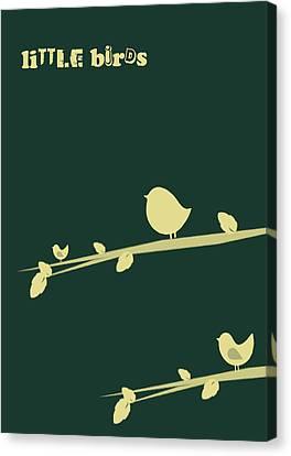 Little Birds Canvas Print by Mark Ashkenazi
