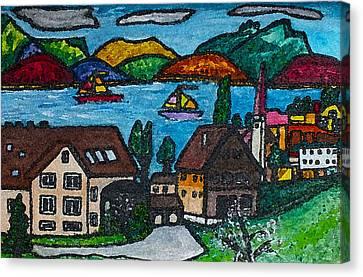 Little Bit Of Swiss Canvas Print by Monica Engeler