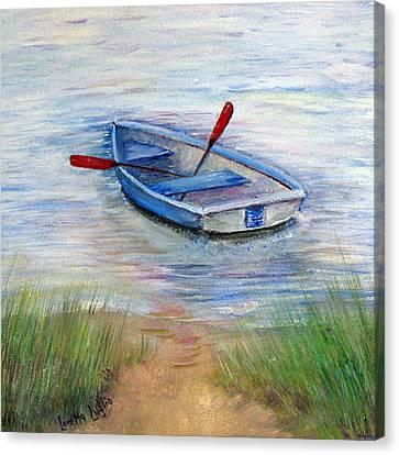 Little Boat Canvas Print