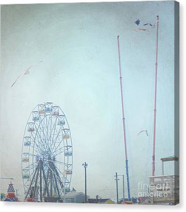 Little Carnival Town Canvas Print by Sharon Coty