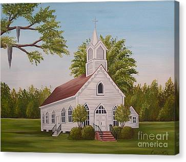 Little Chapel Canvas Print
