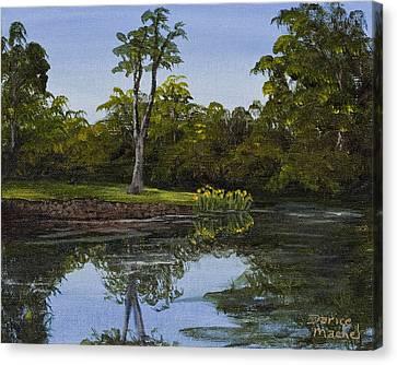 Little Chico Pond Canvas Print by Darice Machel McGuire