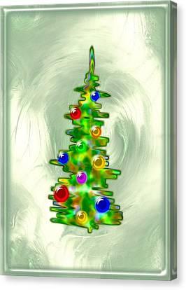 Little Christmas Tree Canvas Print