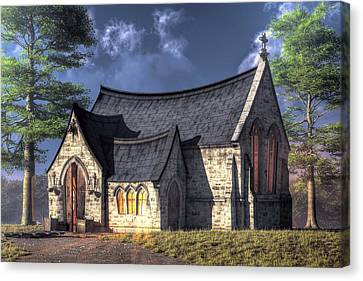 Little Church Canvas Print