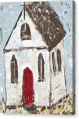 Little Church Canvas Print by Kirsten Reed