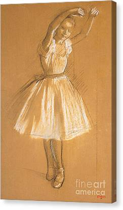 Tutu Canvas Print - Little Dancer by Edgar Degas