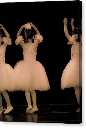 Little Dancers Canvas Print by Christie Kowalski