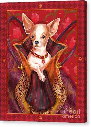 Little Dogs- Chihuahua Canvas Print