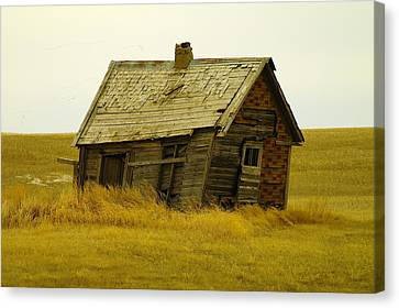 Little House On The Big Prairie Canvas Print