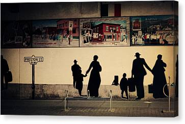 Little Italy Canvas Print by Zinvolle Art