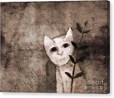 Little Kitten Canvas Print by Lutz Baar