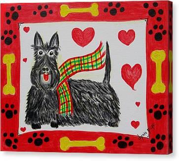 Little Lassie Canvas Print by Diane Pape