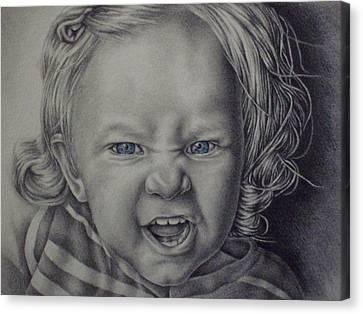 Little Lioness Canvas Print