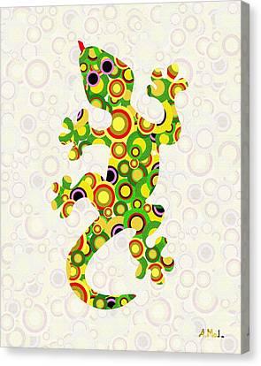 Little Lizard - Animal Art Canvas Print