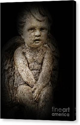 Little Lost Angel Canvas Print