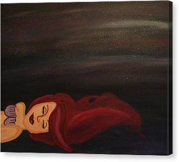 Little Mermaid Canvas Print by Oasis Tone