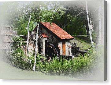 Radnor Canvas Print - Little Mill Eastern State College - Faded by Bill Cannon