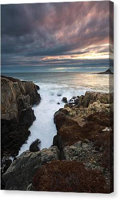 Canvas Print featuring the photograph Little Moose Island  by Patrick Downey