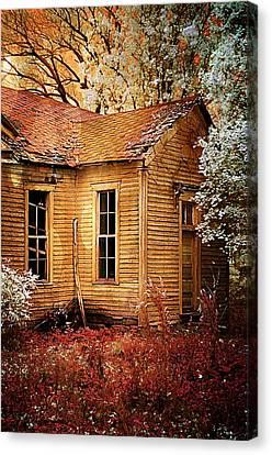 Little Old School House II Canvas Print