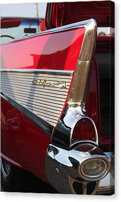 Little Red Balair Canvas Print by Bret Worrell