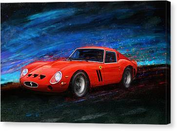 Little Red In The Hood Canvas Print by Alan Greene