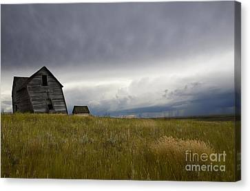 Little Remains Canvas Print by Bob Christopher