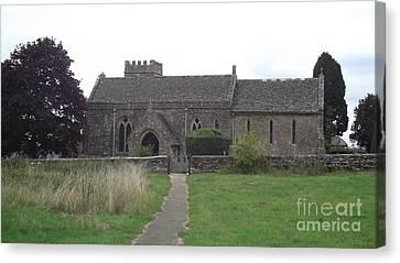 Little Rissington Church Canvas Print by John Williams