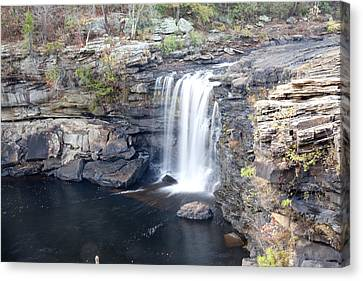Canvas Print featuring the photograph Little River Falls by Robert Camp