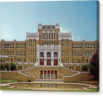 Little Rock Central High School Canvas Print by Mountain Dreams