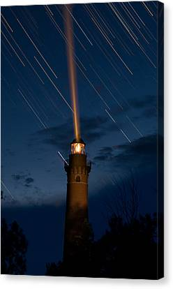 Little Sable Lighthouse Canvas Print by Steve Gadomski