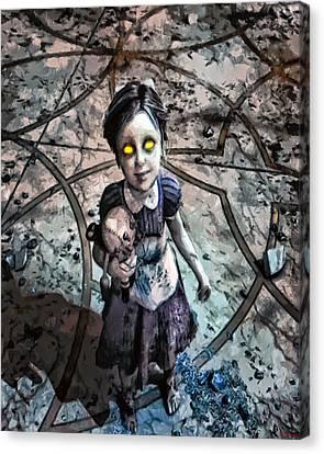 Little Sister Canvas Print by Joe Misrasi