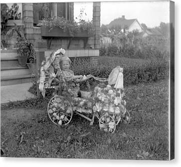 Little Tites Buggy Canvas Print by William Haggart