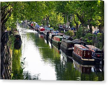 Little Venice Canvas Print by Keith Armstrong