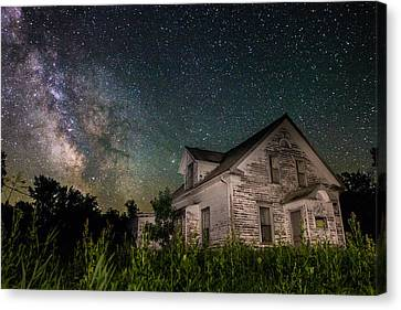 Little White House  Canvas Print by Aaron J Groen