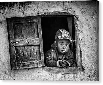 Leaning Canvas Print - Little Window by Marco Tagliarino