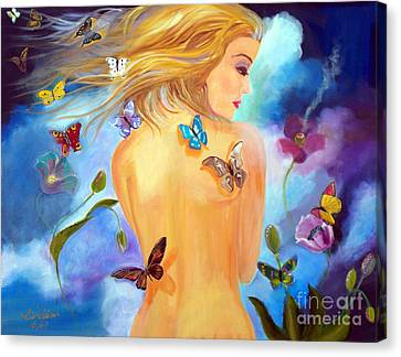 Little Wings Canvas Print by To-Tam Gerwe