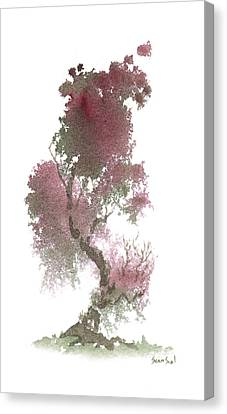 Little Zen Tree 1117 Canvas Print by Sean Seal