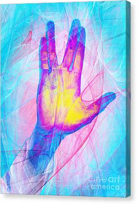 Live Long And Prosper 20150302v1 Canvas Print by Wingsdomain Art and Photography
