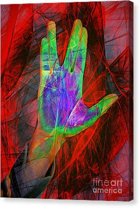 Live Long And Prosper 20150302v2 Canvas Print by Wingsdomain Art and Photography