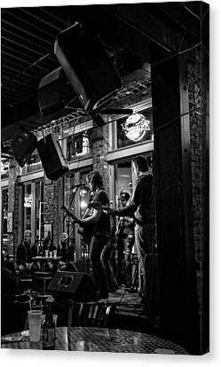 Live Music And Beer In Nashville Tennessee Canvas Print by Dan Sproul