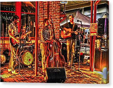 Live Music Canvas Print by Frank Savarese