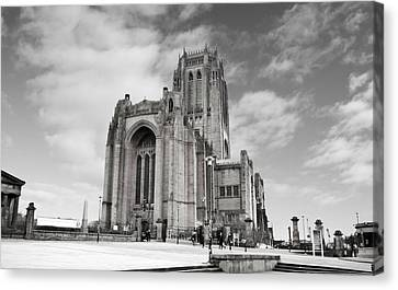 Liverpool Anglican Cathedral Canvas Print