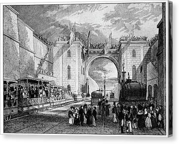 Liverpool Manchester Railway Canvas Print by Cci Archives